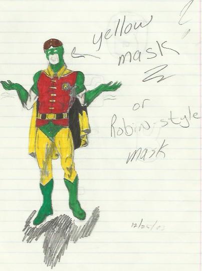 Robin_greenmask