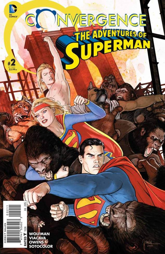 Convergence Adv of Superman 2
